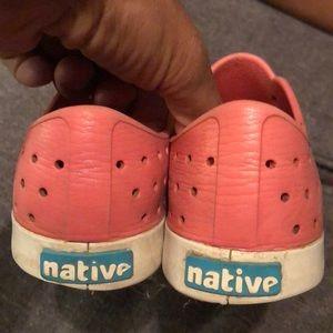 Pink natives